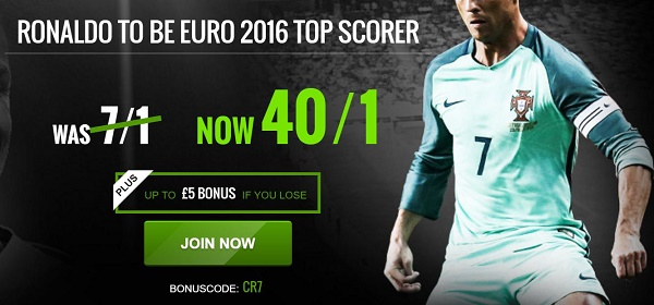 Ronaldo top scorer euro 2016