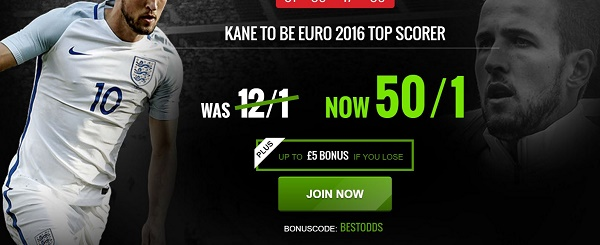 kane to win golden boot odds